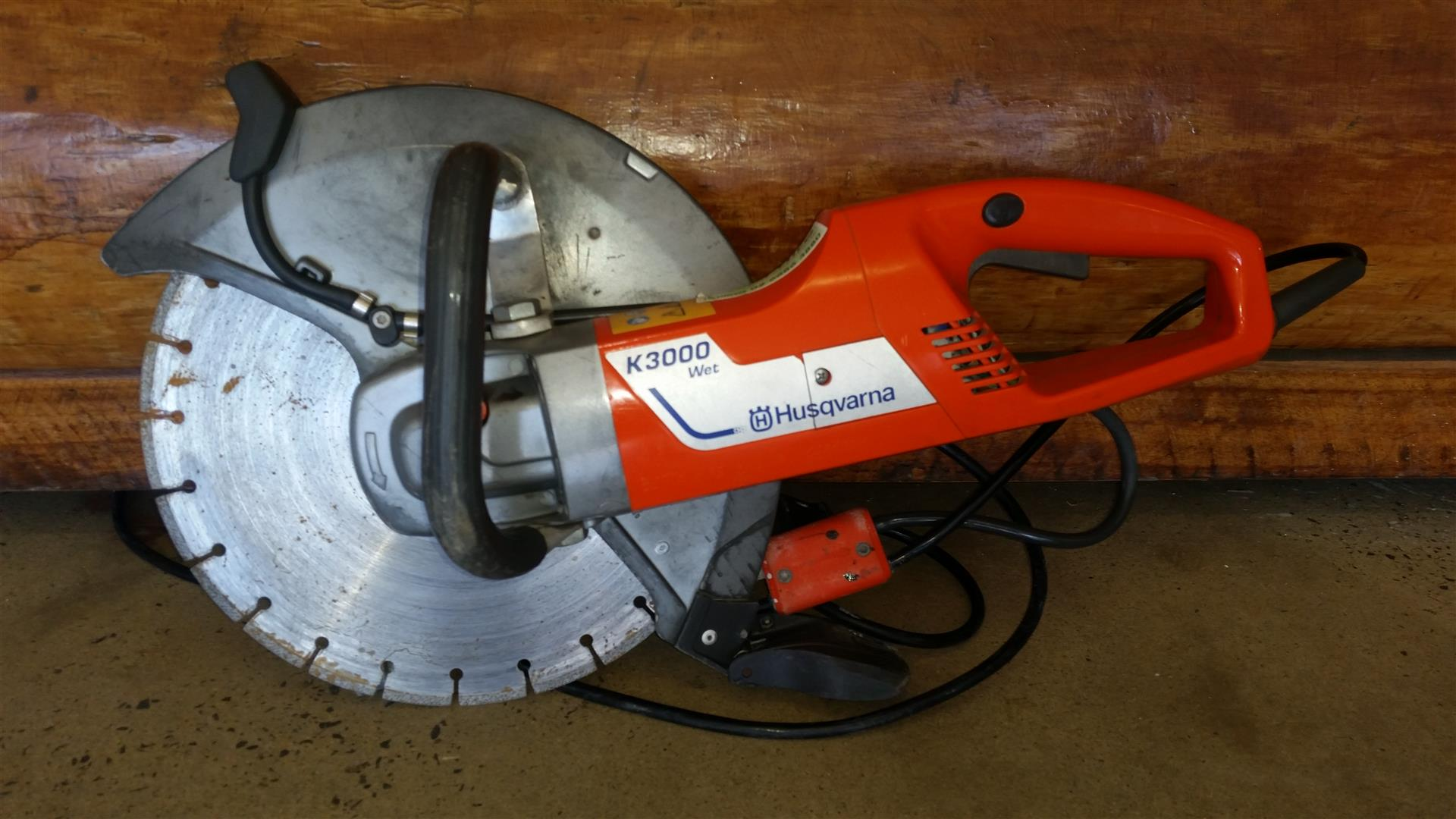 Husqvarna K 3000 Wet Power Cutting 350mm 14 Quot Better