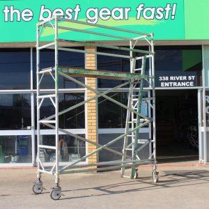 Doorway scaffold for hire