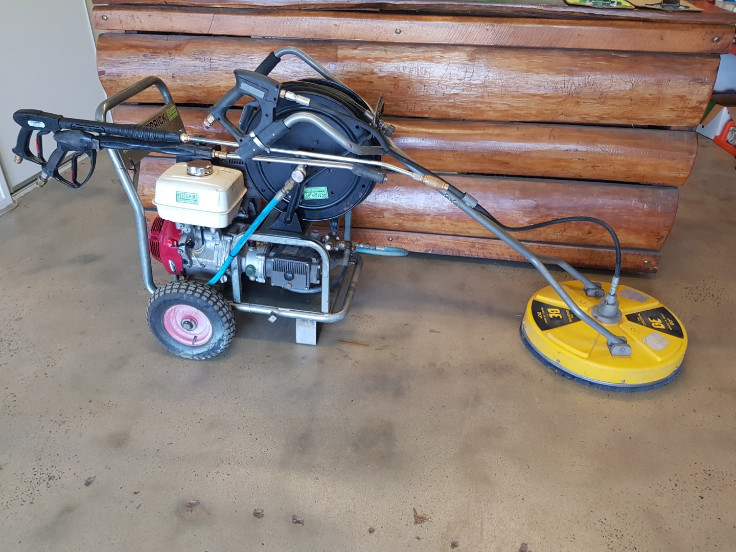 Pressure Cleaner and Whirlaway Kit 3000 psi