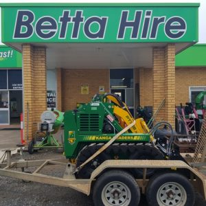 Kanga Mini Loaded Betta Hire Ballina Lismore Byron Bay On Trailer